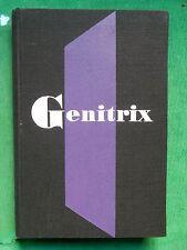 GENITRIX FRANCOIS MAURIAC 1953 CLUB DU MEILLEUR LIVRE NUMEROTÉ