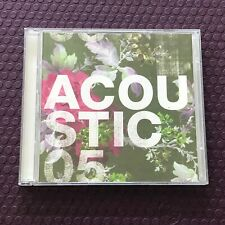 ACOUSTIC 05 - VARIOUS – 2x CD - INDIE FOLK, WORLD, & COUNTRY COMPILATION