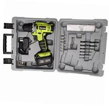 20v li-ion battery cordless drill/driver, 2-speeds 1500rpm 21+1 speed control