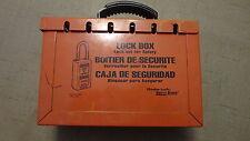 Master Lock Lock Box Model 498A Lockbox Safety Series