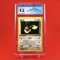 Pokemon Eevee CGC 9.5 Team Rocket 1st Edition 55/82 10 Gem Mint PSA