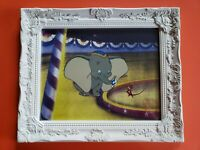 Walt Disney's Dumbo & Timothy Mouse 15x18 Custom Framed Animation Serigraph Cel