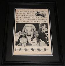 1959 Yashica Y16 11x14 Framed ORIGINAL Vintage Advertisement Poster B