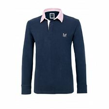 Crew Clothing Men's Long Sleeve Rugby Casual Shirts & Tops