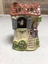 Vintage Schmid Music Box Peek A Boo Moving Bird Oh What A Beautiful Morning