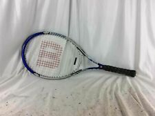 "Wilson Fusion Titanium Tennis Racket, 27"", 4 1/4"""