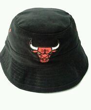 72a727b34c4 NBA Chicago Bulls Corduroy Black Bucket Hat by Mitchell   Ness Small Medium