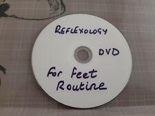 New to EBay. 1 Piece DVD on Feet Learn Reflexology.Helping Alzheimer's Society.