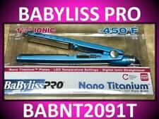 "BABYLISS PRO 1 1/4"" NANO TITANIUM FLAT IRON 450° HAIR STRAIGHTENER LED BABNT2091"