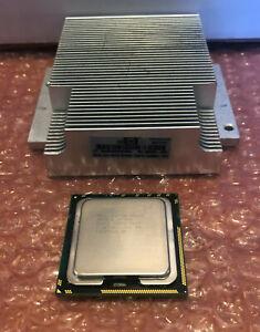 HP XEON X5650 6-CORE 2.66GHz 12MB CPU w/ G7 HEAT SINK 594884-001/586631-001