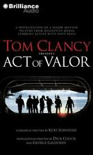 Act Of Valor By Tom Clancy Audiobook (4 Compact Discs)  NEW