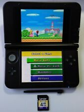 Nintendo 3DS XL Red and Black Handheld System