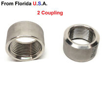 """3/4"""" .75"""" NPT 304 SS Stainless Steel Thread Half Coupling Weld Pipe"""