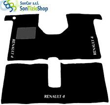 TAPPETI RENAULT 4, DECORO: RENAULT 4 bianco + 4 Block Universale!