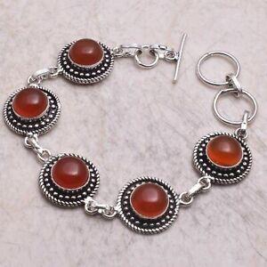 Carnelian Ethnic Handmade Bracelet Jewelry 19 Gms AB 61130