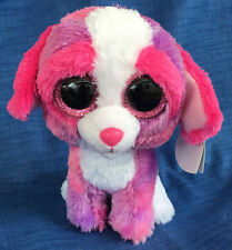 w-f-l TY Boos Sherbet Dog Valentine's Day 15 cm Glubschi Boo ´s Glitter Eyes