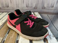 Nike girl youth 3 3Y girl running training shoes sneakers 844992-600 flex pink