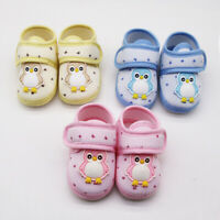 Infant Newborn Baby Girls Boy Prewalker penguin Cartoon Single Shoes AU