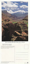 COLORADO RIVER VALLEY UTAH UNUSED COLOUR POSTCARD FOR THE NRDC