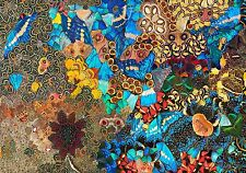 """IKEA 2016 Art Event Poster 24""""x36""""Force of Nature""""Butterfly Wing Collage Print"""