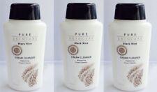 Pure Skin Care Black Rice Cream Cleanser, 8.4 fl oz / 200 mL ea x 3 Bottles