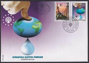 Yugoslavia, 1999, Nature and Environment Protection, FDC