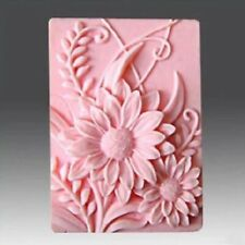 Sunflower Flower Mould Silicone Soap Chocolate Sugar Craft Handmade Mould UK