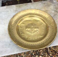 Scottish Grand laiton Alms dish Trois Chardons 19th siècle