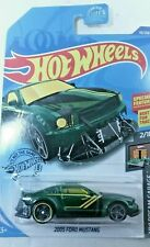 Hot Wheels 2005 FORD MUSTANG 19/250 HW DREAMGARAGE 2/10 Green Best for Track NIB