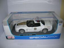 "Maisto Chevrolet Corvette Z06 / Z 06 ""State Trooper Police"" 2014 1:18 Art. 31383"