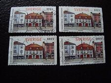 SUEDE - timbre yvert et tellier n° 2022 x4 obl (A29) stamp sweden (A)