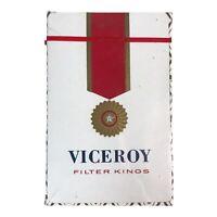 Vtg NOS Viceroy Filter Kings Cigarette Bridge Size Playing Card Deck NEW SEALED