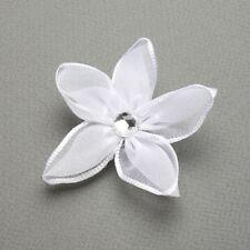 MARIELL'S PRETTY FRANGIPANI FLOWER IN WHITE - WORN IN HAIR OR BROOCH