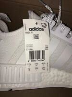Adidas NMD R1 Runner Triple White S31506 3M Reflective Boost OG PK Limited Rare