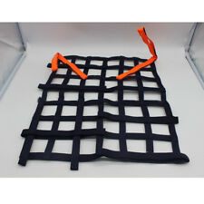 Black Racing Rally Car Safety Window Net Protector Racing Car Safety Equipment