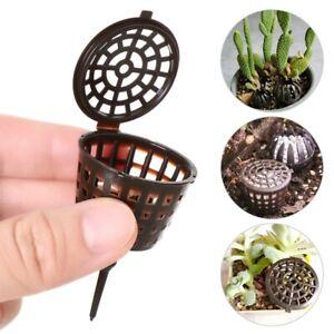 Portable 10-100x Fertilizer Box Bonsai Tool Cover Basket Case Plant Nursery Pots