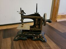 New ListingVintage Antique German Toy Mini Sewing Machine