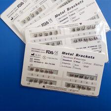 20 X Dental Orthodontic Bracket Braces Mini MBT 022 Slot 3 Hooks Tooth Metal FDA