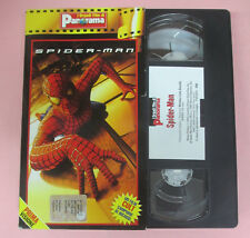 VHS film SPIDER-MAN 2002 Tobey Maguire Willem Dafoe PANORAMA marvel(F134) no dvd