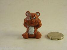 """Miniature Teddy Bear Ornament Figure 1 1/2"""" tall"""