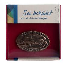 Handschmeichler MARIA LAACH Engel Kind Schutz Bronze Geschenk Box Rot 50x30mm
