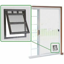 Small Pet Patio Screen 2-Way Access Door Snap Flap