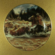 The West Of Frank McCarthy Headed North Plate Cowboys Cattle Drive Hamilton Coll