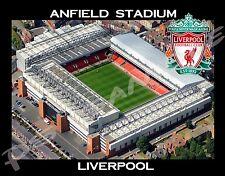 Liverpool - ANFIELD STADIUM - Travel Souvenir Flexible Fridge Magnet