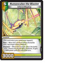 Kaijudo X1 HUMONCULON THE BLASTER Rare #82/110 7CLA Clash DUEL MASTERS 2013