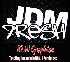 JDM Fresh * sticker decal ill illest JDM hella drift vinyl domo turbo funny car