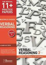 11+ Practice Papers, Verbal Reasoning Pack 2 (Multiple Choice): VR Test 5, VR Te