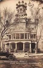 Anamosa Iowa State Reformatory Admin Bldg Real Photo Antique Postcard J72838