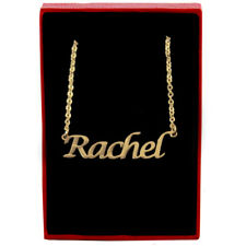 Rachel - Gold Name Necklace - Personalized Jewellery - Valentines Gifts