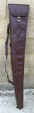 DEMO,PU LEATHER SHOTGUN SLIP, SHOT GUN SLIP, FULL ZIP GUN CASE,THICK LINING ,311